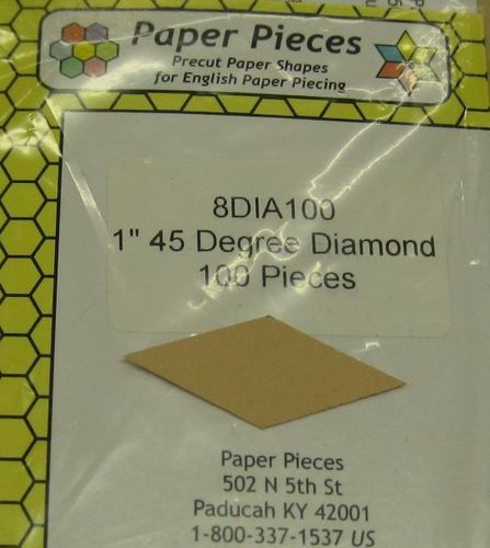 1 inch, 45 degree Diamond / Rauten